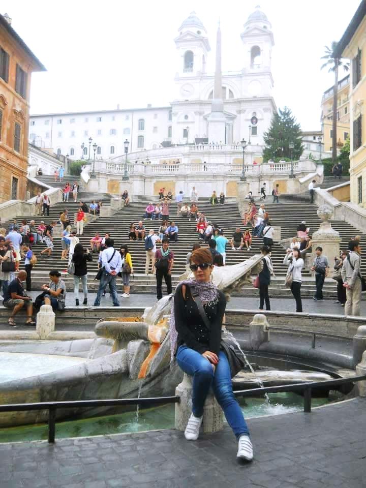 Silvia a Roma 1