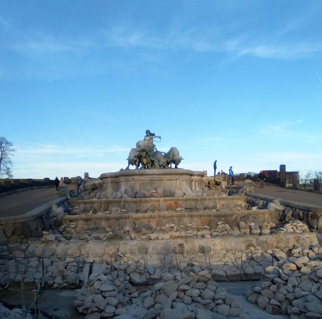 fontana di Gefjun 3